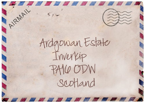 envelope with address